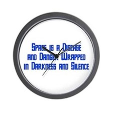 Space is a Disease Wall Clock