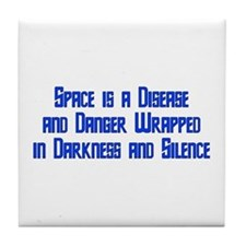 Space is a Disease Tile Coaster
