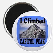 I Climbed Capitol Peak Magnet