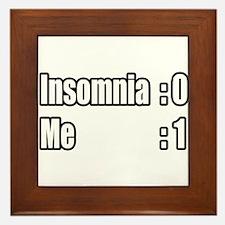 """""""I'm Beating Insomnia"""" Framed Tile"""