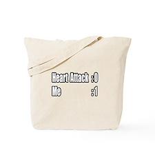"""""""Heart Attack Survivor"""" Tote Bag"""
