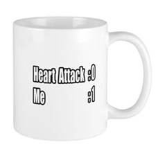"""Heart Attack Survivor"" Mug"