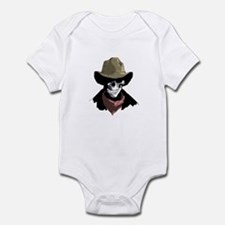 Cowboy Skull Infant Bodysuit