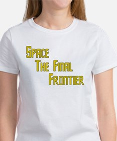 Space The Final Frontier Tee