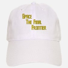 Space The Final Frontier Baseball Baseball Cap