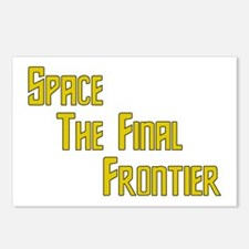 Space The Final Frontier Postcards (Package of 8)