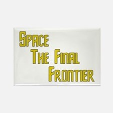Space The Final Frontier Rectangle Magnet