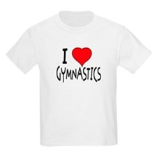"""I LOVE GYMNASTICS"" T-Shirt"