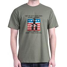 Drill American Oil T-Shirt