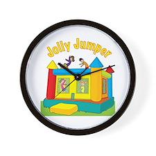 Jolly Jumper Wall Clock