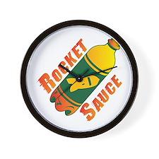 Rocket Sauce Wall Clock