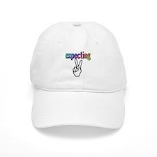 Expecting 2 Baseball Cap