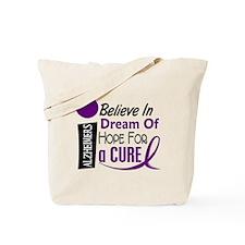 BELIEVE DREAM HOPE Alzheimers Tote Bag