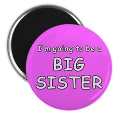 """I'm going to be a big sister 2.25"""" Magnet (10 pack"""