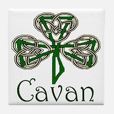 Cavan Shamrock Tile Coaster