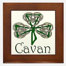 Cavan Shamrock Framed Tile