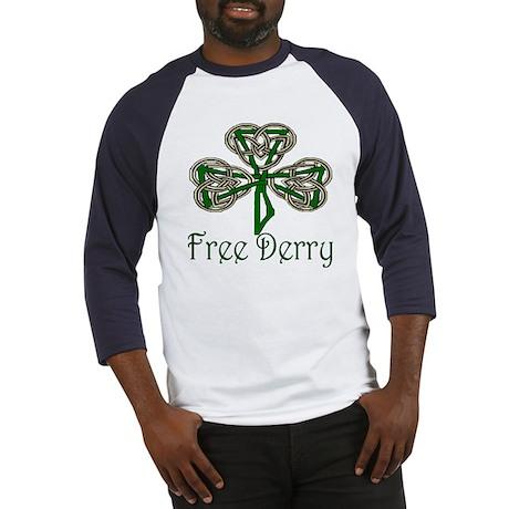 Free Derry Shamrock Baseball Jersey