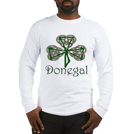 Donegal Shamrock Long Sleeve T-Shirt
