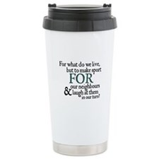 Jane Austen Make Sport Thermos Mug