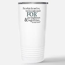 Jane Austen Make Sport Travel Mug