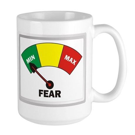 Fear Large Mug