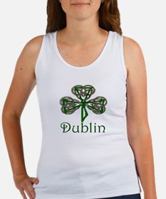 Dublin Shamrock Women's Tank Top