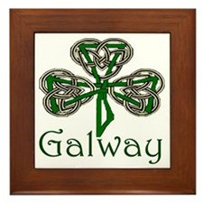 Galway Shamrock Framed Tile