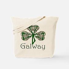 Galway Shamrock Tote Bag