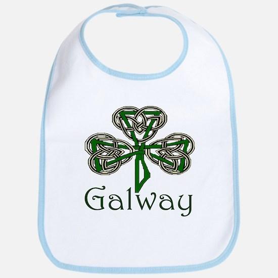 Galway Shamrock Bib