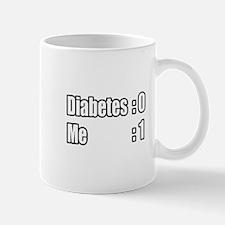 """""""I'm Beating Diabetes"""" Mug"""