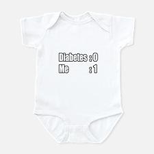 """""""I'm Beating Diabetes"""" Infant Bodysuit"""