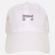 """I'm Beating Diabetes"" Baseball Baseball Cap"