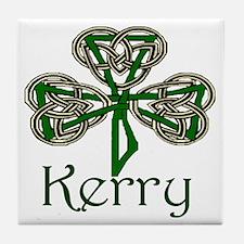 Kerry Shamrock Tile Coaster
