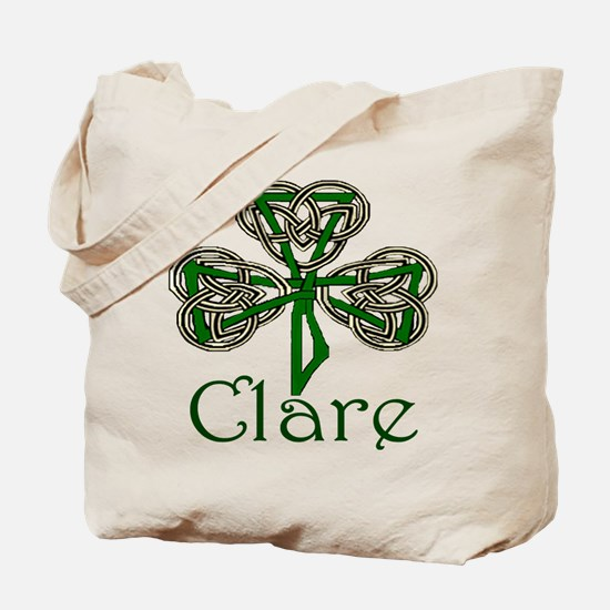 Clare Shamrock Tote Bag
