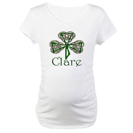 Clare Shamrock Maternity T-Shirt