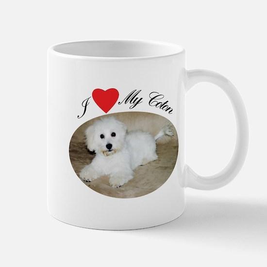 I heart my Coton Mug