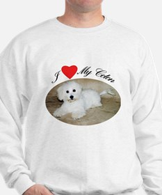 I heart my Coton Sweatshirt