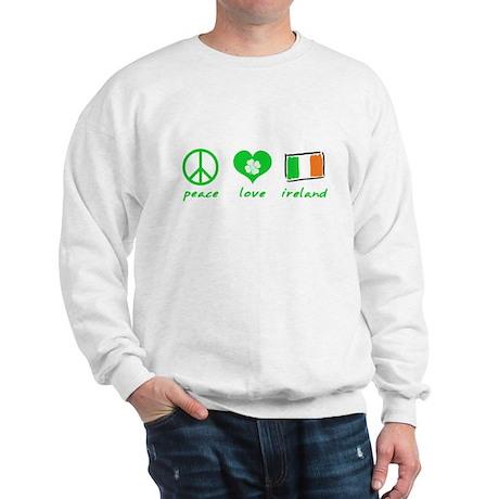 Peace Love Ireland Sweatshirt