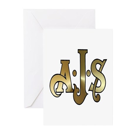 AJS Greeting Cards (Pk of 10)