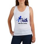 Colon Cancer Faith Women's Tank Top