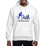 Colon Cancer Faith Hooded Sweatshirt