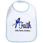 Colon Cancer Faith Bib