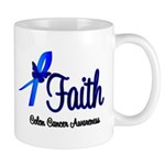 Colon Cancer Faith Mug