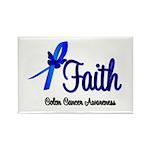 Colon Cancer Faith Rectangle Magnet (100 pack)