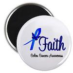 Colon Cancer Faith Magnet