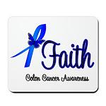 Colon Cancer Faith Mousepad