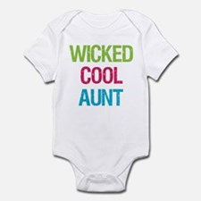 Wicked Cool Aunt! Infant Bodysuit