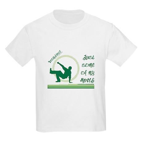 Stellar Breakdance Kids Light T-Shirt