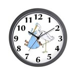 Just Arrived African American Boy Wall Clock