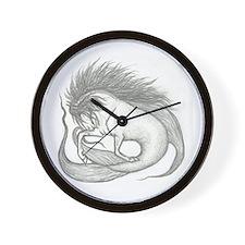"""""""Hippocampus"""" Wall Clock"""